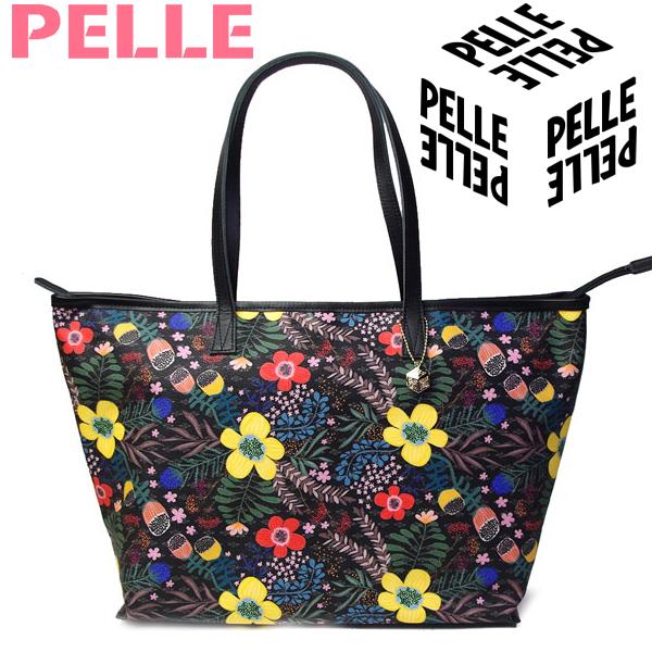 【セール】 ペレ PELLE バッグ レディース トートバッグ Lトート ショルダーバッグ Cube キューブ 1100 フラワー