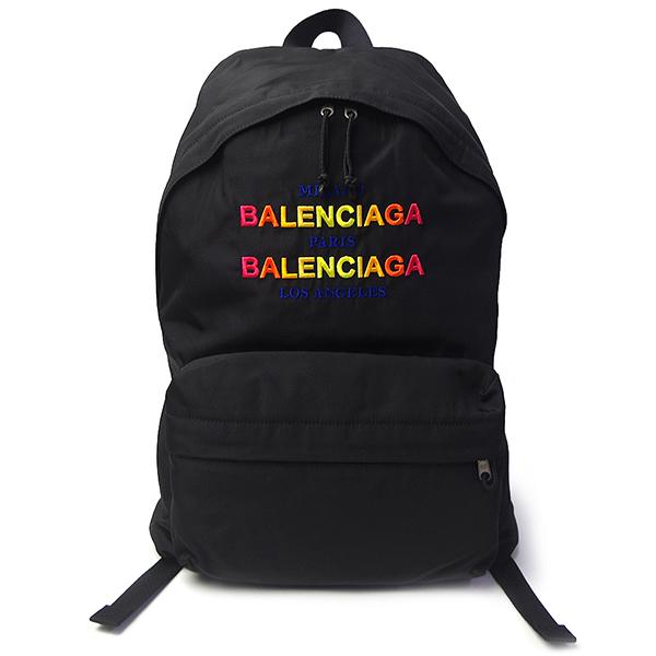 バレンシアガ バッグ レディース メンズ BALENCIAGA エクスプローラー 503221 6D0U5 1080 ブラック