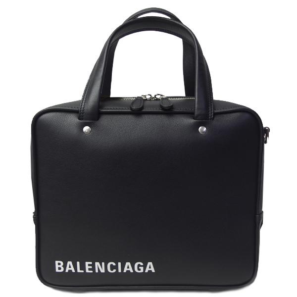バレンシアガ バッグ レディース BALENCIAGA トライアングルスクエア 528545 C8K02 1000 ブラック