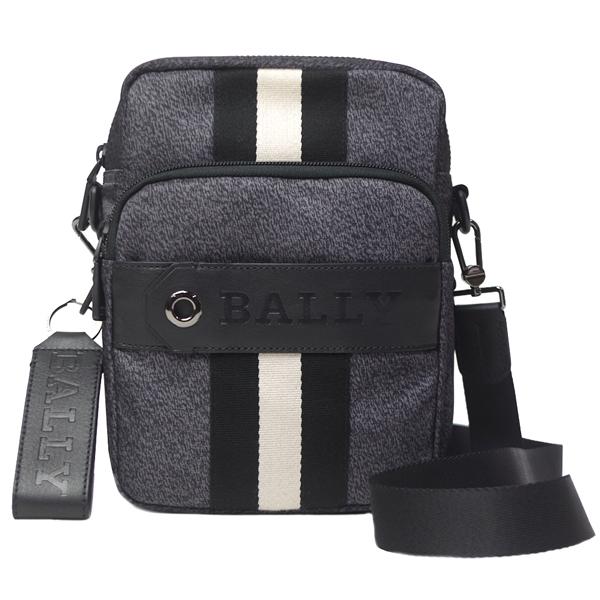バリー バッグ メンズ ショルダーバッグ BALLY SKYLLER C 10 6218102 グレー/ブラック