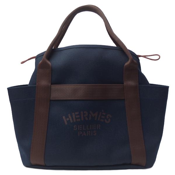 エルメス バッグ HERMES H068312 ブルーネイビー サック ド パンサージュ