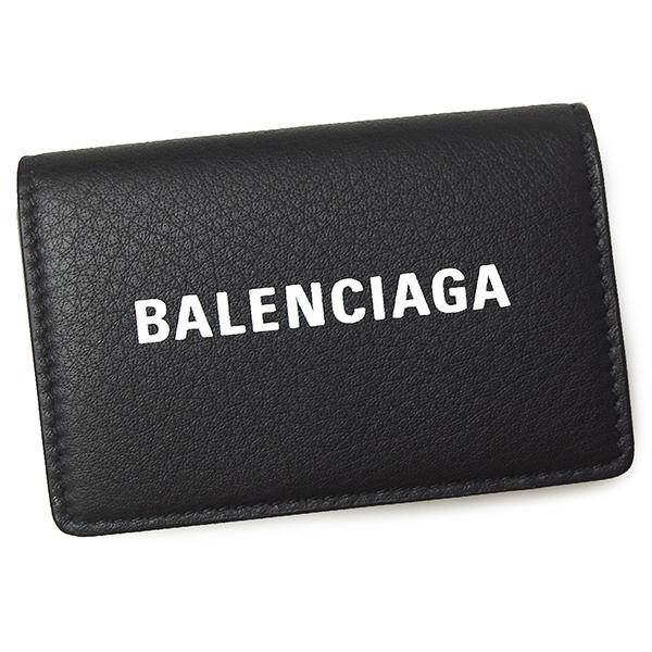 バレンシアガ 財布 レディース メンズ BALENCIAGA エブリデイ 505055 DLQHN 1060 ブラック