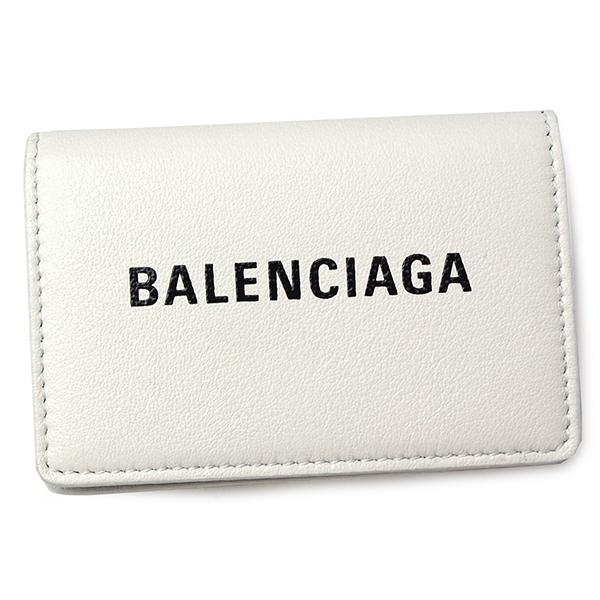 バレンシアガ 財布 レディース メンズ BALENCIAGA エブリデイ 505055 DLQHN 9060 ホワイト