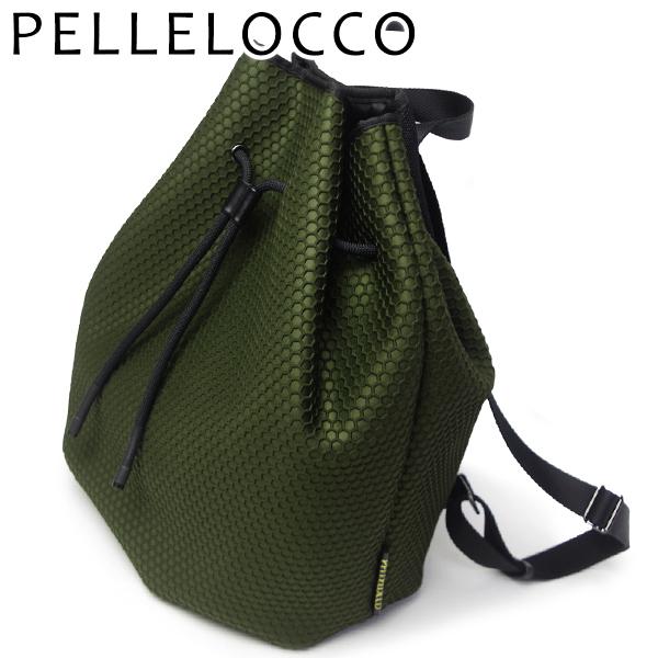 ペレロッコ バッグ レディース PELLELOCCO リュック ハニービー 1617-KK6 カーキ6