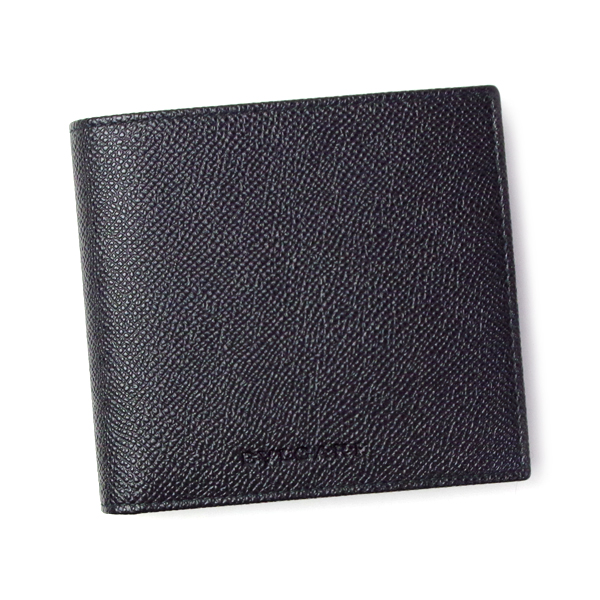 4efb5e64f60b ブルガリ 二つ折り財布 財布 30396 ブルガリ ブランド BVLGARI MAN ブラック BVLGARI マン