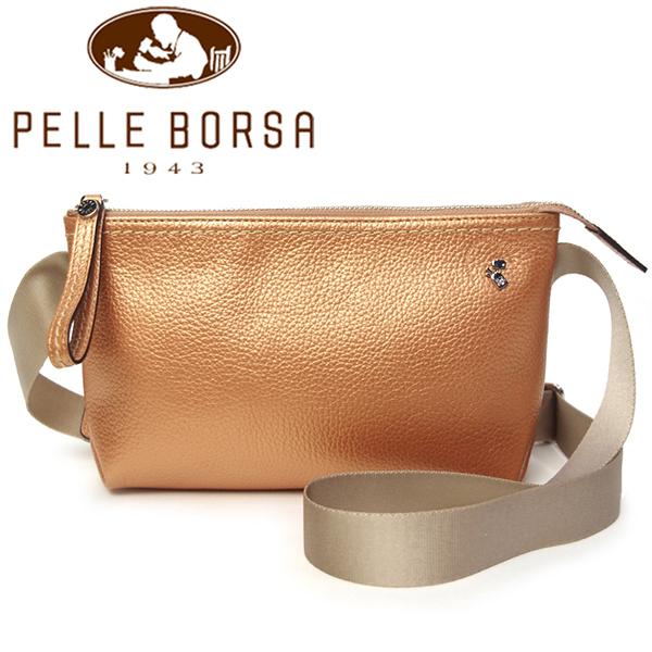 ペレボルサ バッグ レディース PELLE BORSA レザーショルダー 5151-OR オレンジ