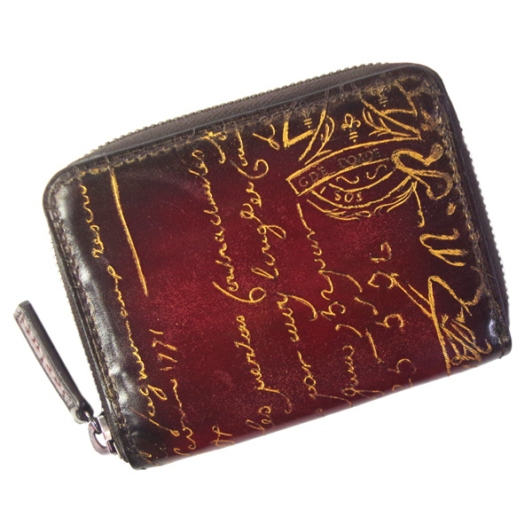 ベルルッティ 財布 メンズ BERLUTI 小銭入れ ワパ 135253 ボルドー スペシャルパティーヌ