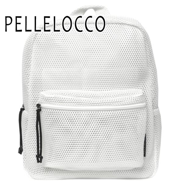 ペレロッコ バッグ レディース PELLELOCCO バックパック シャイン 1555-WH ホワイト