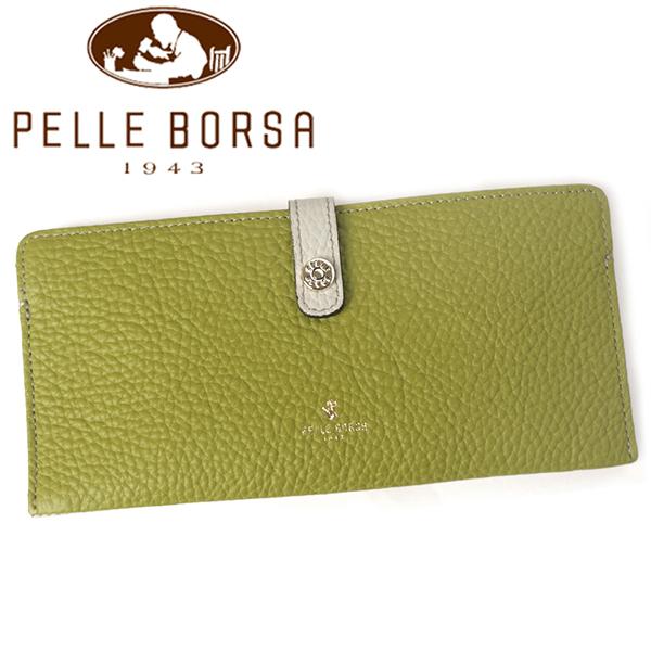 ペレボルサ 財布 レディース PELLE BORSA レネット 4707-GL グリーン