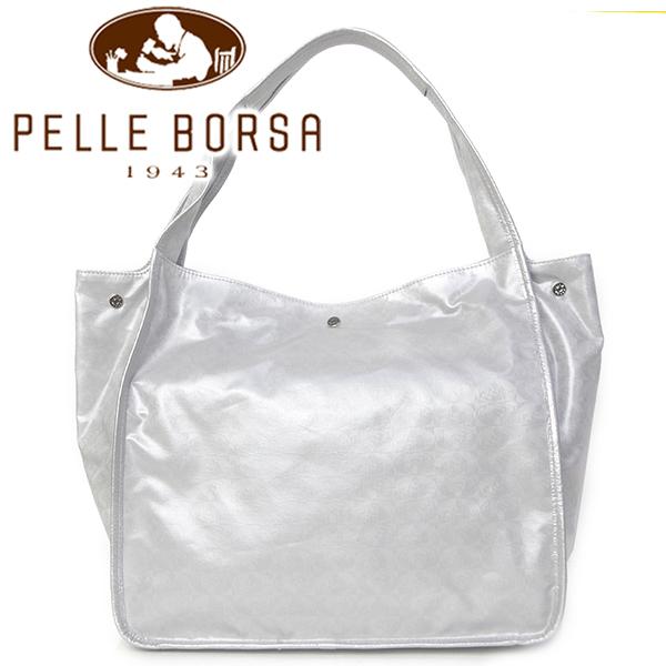 ペレボルサ バッグ レディース PELLE BORSA アライブパール 6307-SI シルバー
