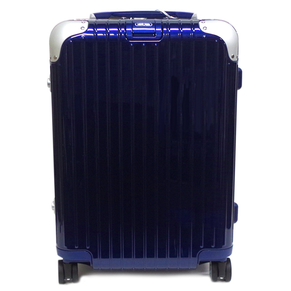 リモワ スーツケース メンズ レディース RIMOWA リンボ キャビン 88153214 37リットル ブルー