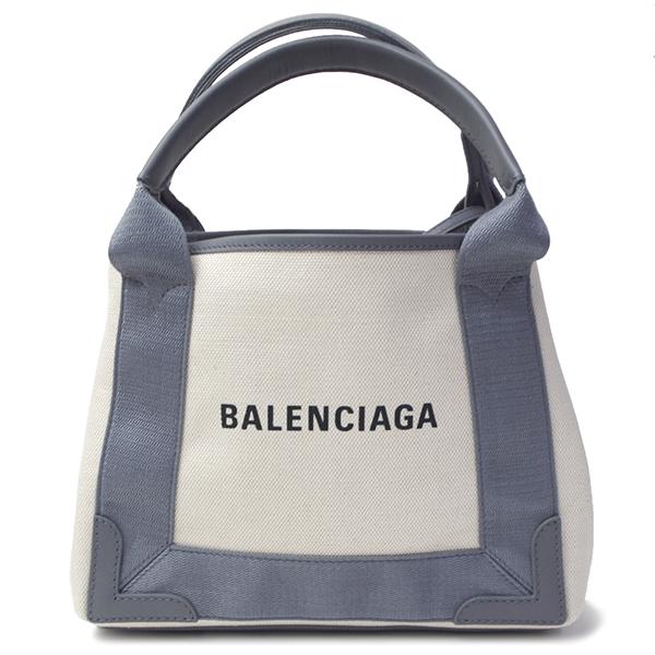 バレンシアガ バッグ レディース メンズ BALENCIAGA ネイビーカバXS 390346 AQ38N 1381 ナチュラル×グレー