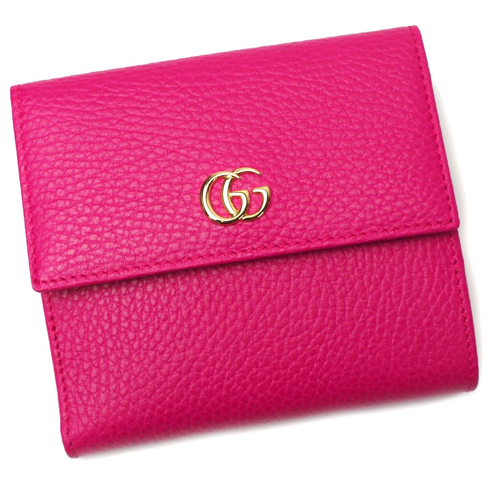 グッチ 財布 レディース 456122 CAO0G 5752 BOX PINK ピンク GUCCI