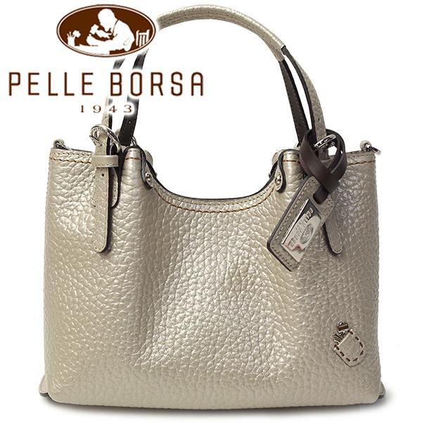 ペレボルサ バッグ プラント 3707 シャンパンゴールド