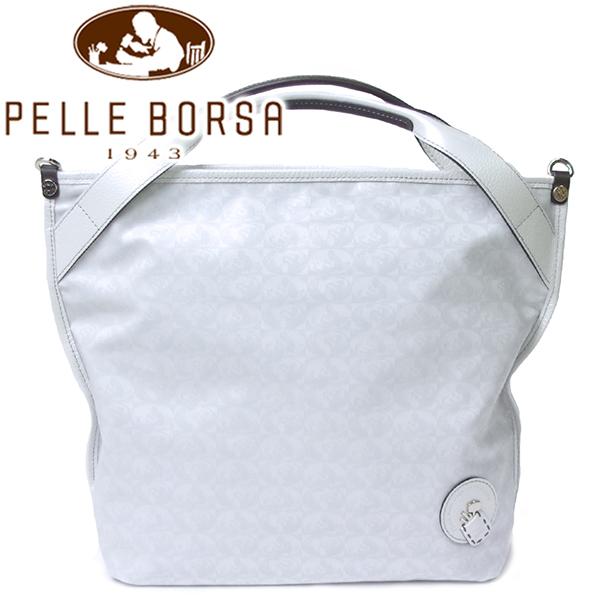 ペレボルサ バッグ レディース PELLE BORSA アライブ 4372 ホワイト