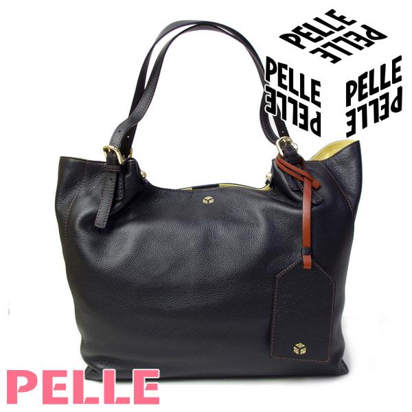 ペレ PELLE バッグ レディース トートバッグ A4サイズ ショルダーバッグ Vivir ヴィヴィル 1001 ブラック