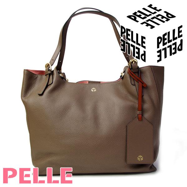 ペレ PELLE バッグ レディース トートバッグ A4サイズ ショルダーバッグ Vivir ヴィヴィル 1001 トープ