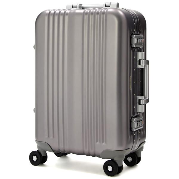 T&S スーツケース レジェンドウォーカー キャリーケース A BLADE 1000-48 33リットル ガンメタル