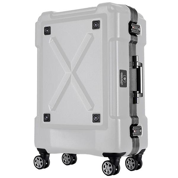 T&S スーツケース レジェンドウォーカー キャリーケース 6302-69 86リットル マットホワイト