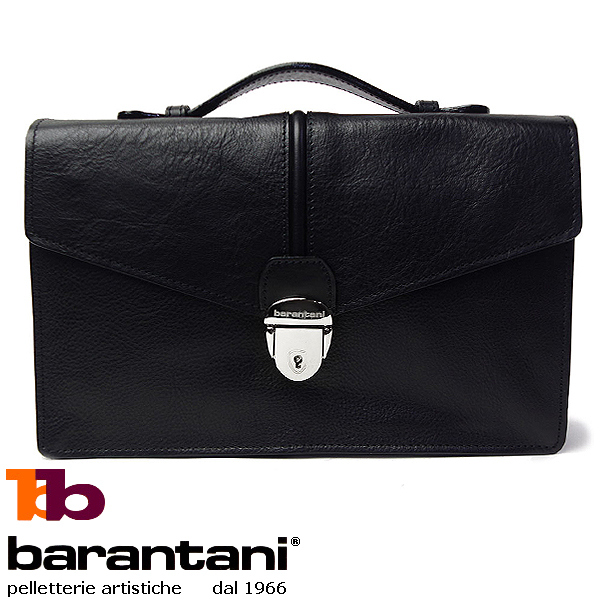 メンズバッグ ビジネス 本革 イタリアンレザー バランターニ 25074 ブラック