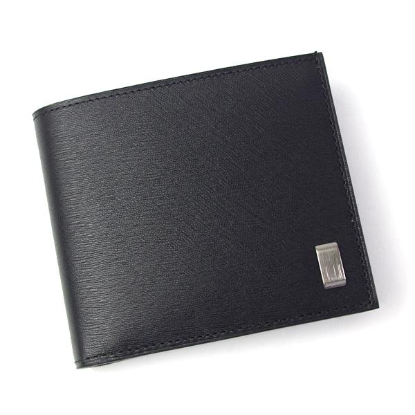4093f6177444 ダンヒル dunhill 財布 メンズ 小銭入れ付き 二つ折り財布 サイドカー ガンメタル ブラック L2RF32A