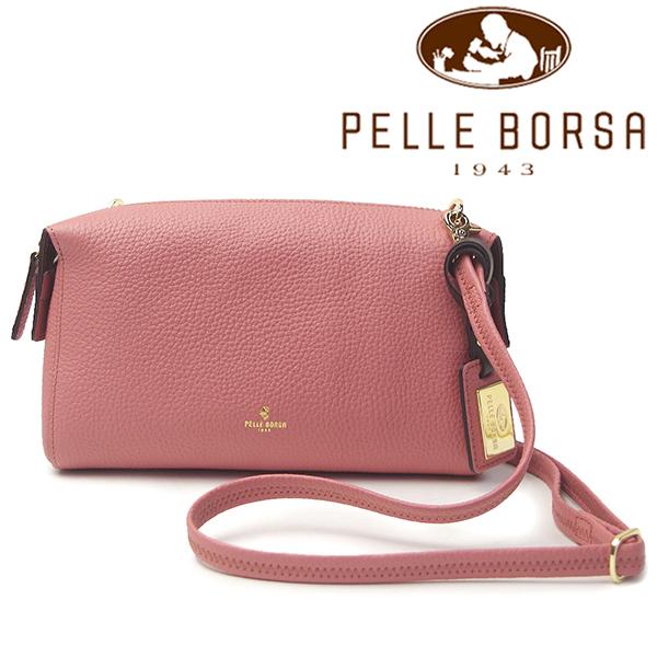 ペレボルサ バッグ レディース PELLE BORSA レネット 4717-CP ピンク系
