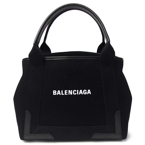 バレンシアガ ネイビーカバ S トートバッグ レディース メンズ 339933 AQ38N 1000 ブラック