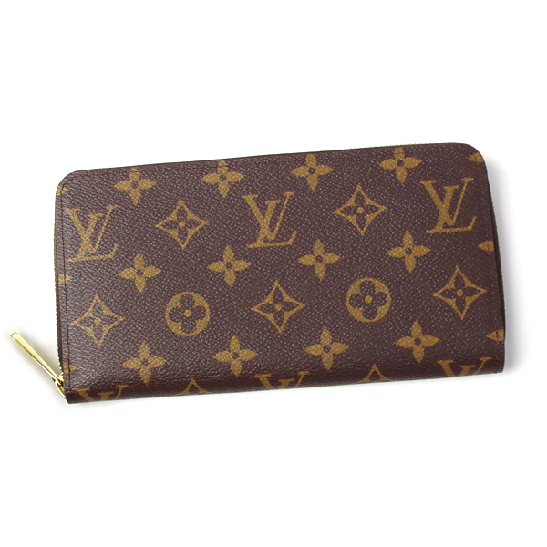 ルイヴィトン 財布 レディース メンズ LOUIS VUITTON モノグラム ジッピー・ウォレット M42616