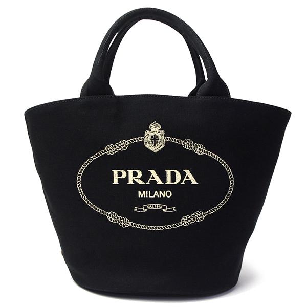 プラダ カナパ トートバッグ レディース 1BG186 CANAPA NERO ブラック