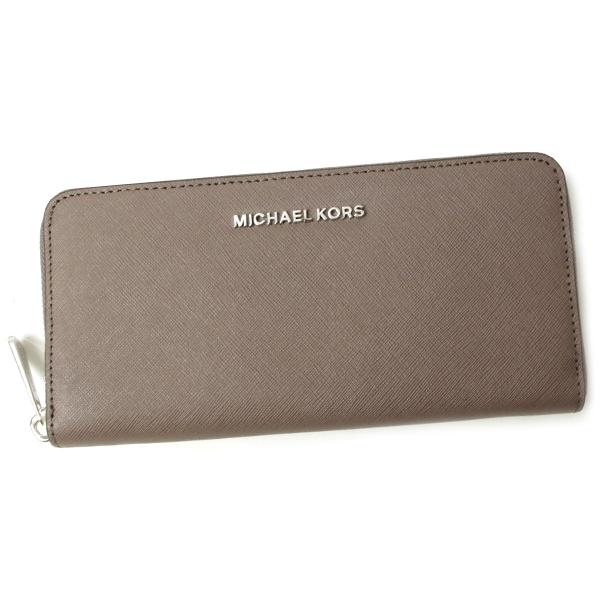 マイケルコース 財布 32T3STVE3L 513 CINDER/グレー