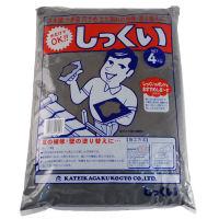 家庭化学工業 しっくい [黒] 4kg×5袋【代引・他の商品同梱不可】【送料無料】