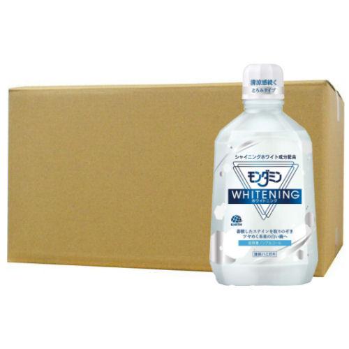 アース製薬 モンダミン ホワイトニング 1080ml×12本セット 低刺激ノンアルコールタイプ