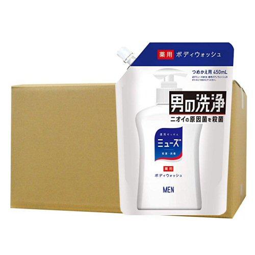 ミューズメン ボディーウオッシュ 詰替 450ml×16本セット ニオイの原因菌を殺菌