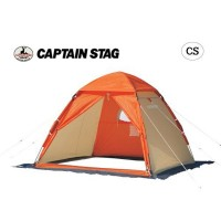 CAPTAIN STAG ワカサギ釣り ワンタッチテント210(コンパクト)OR M-3131【C】