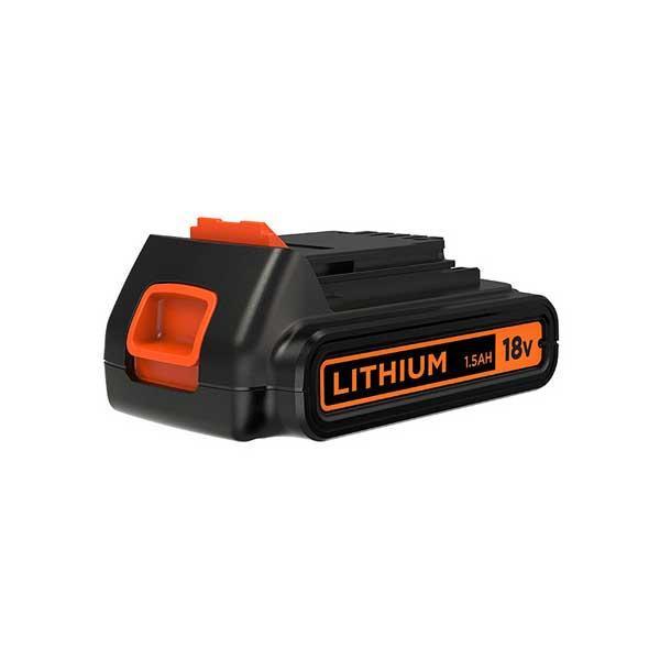 黒 & DECKER 18Vリチウムイオンバッテリー BL1518N【C】 こちらの商品は北海道、沖縄、離島配送不可
