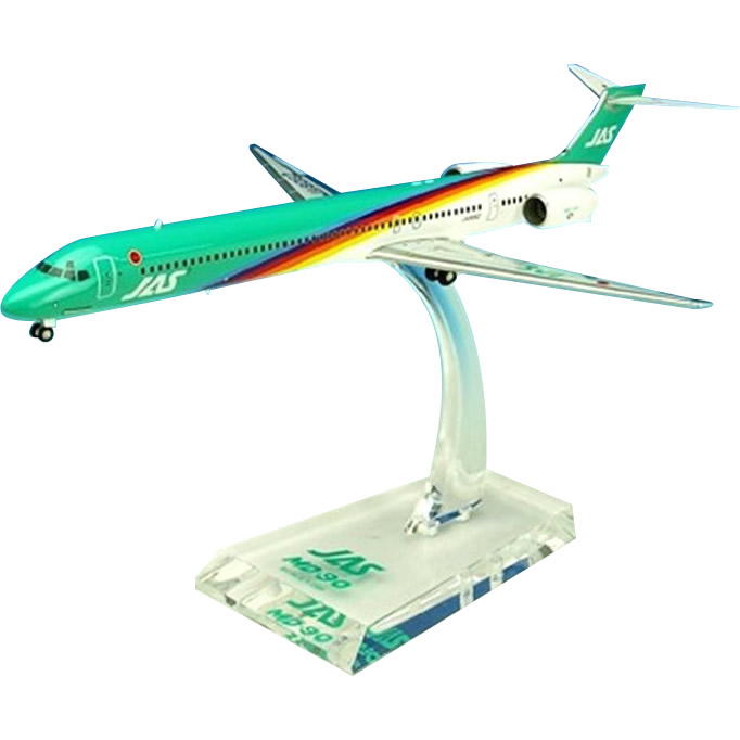 JAL/日本航空 JAS MD-90 4号機 ダイキャストモデル 1/200スケール BJE3037【C】