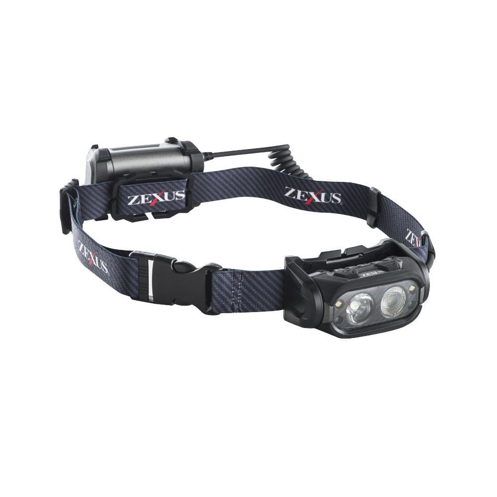 YAZAWA(ヤザワコーポレーション) LEDヘッドライト 800lm ブースト搭載モデル ZX-S700【C】
