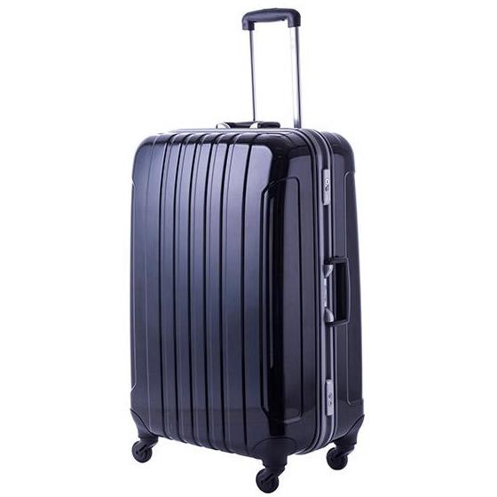協和 MANHATTAN EXP (マンハッタンエクスプレス) 軽量スーツケース フリーク Lサイズ ME-22 ブラック・53-20031【C】