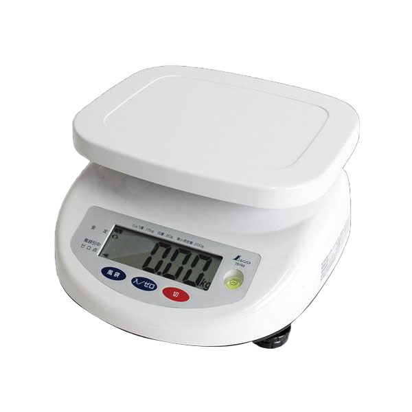 70193 シンワ デジタル上皿はかり 15kg 取引証明用【C】