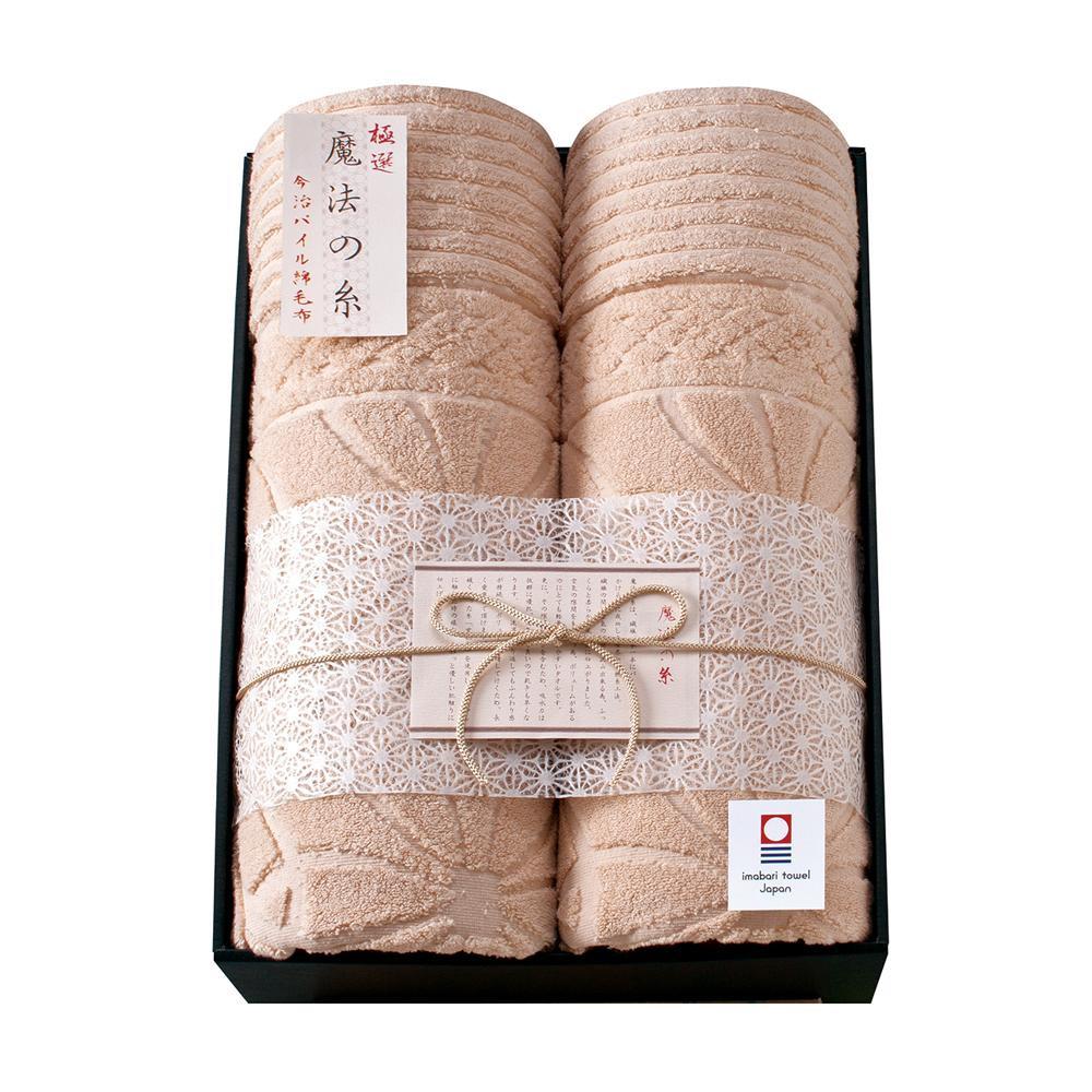極選 魔法の糸 今治製パイル綿毛布2P AI-30020【C】