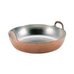 102306 MT銅製揚鍋42cm (3.0mm)【C】