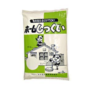 マツモト産業 ホームしっくい 3kg×5袋【代引き不可】【C】