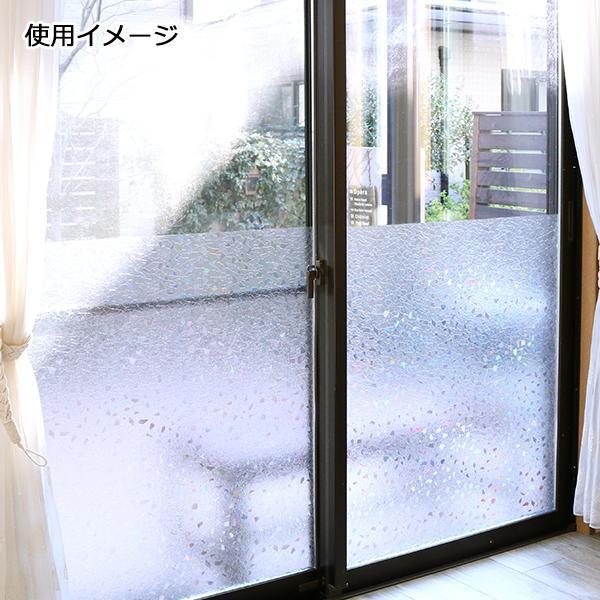 窓飾りシート(レンズタイプ) 92cm幅×15m巻 C(クリアー) GCR-9207【C】