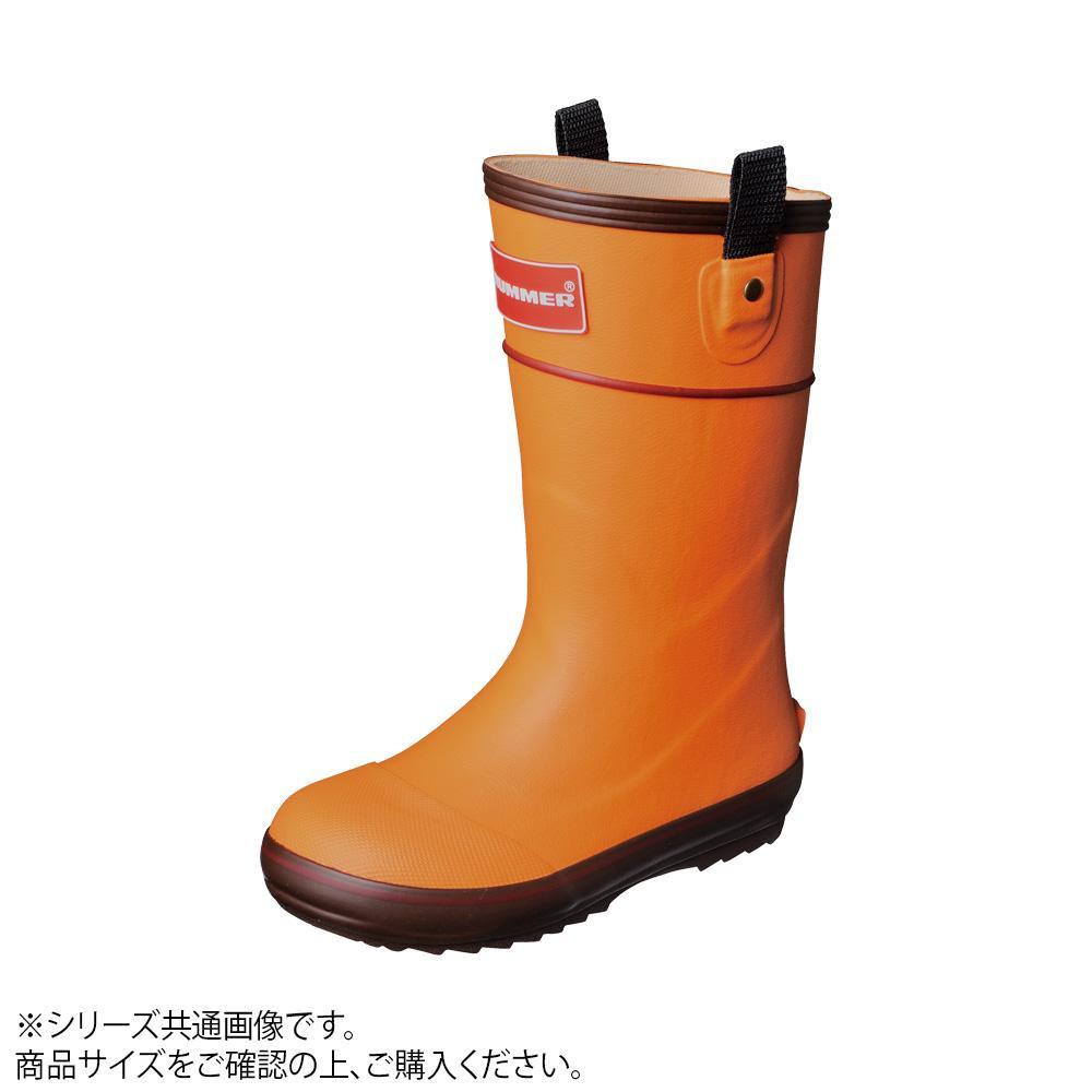 HUMMER(ハマー) 長靴 H3-21 オレンジ 23.0cm B0336AP【C】