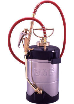 B&Gエクステンダーバン 1ガロン[3.8L] ショートノズル仕様(8インチタイプ) スプレーヤー[蓄圧式噴霧器] 【送料無料】