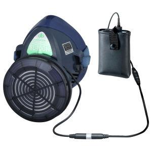 電動ファン付き呼吸用保護具 サカヰ式 BL-100H-05 電池・充電器付き [387029] 興研 【作業 安全 アスベスト 電動 マスク ハイグレード ファン】【HD】