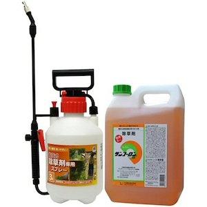 【サンフーロン液剤 5L+噴霧器セット】グリホサート 農薬【送料無料】