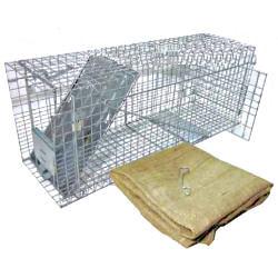 アニマルトラップ MODEL1089 PRO 中型動物用トラップ [捕獲器・捕獲機]【送料無料】