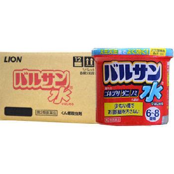 ライオン 水ではじめるバルサン 6-8畳用 [12.5g]×30個 【第2類医薬品】【ケース販売】