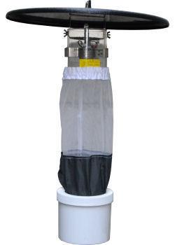 蚊 捕獲機 CDCミニチュアライトトラップ モデル512 電池ボックス付【送料無料】[ヒトスジシマカ 捕虫器 モニタリング用 生息調査用]
